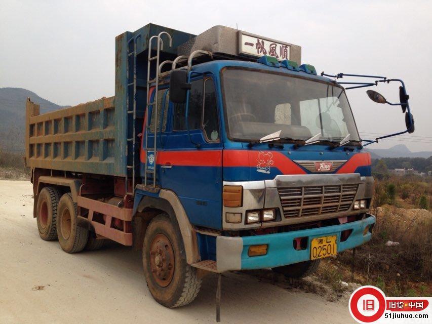 低转日本日野进口泥头车-尽在51旧货网