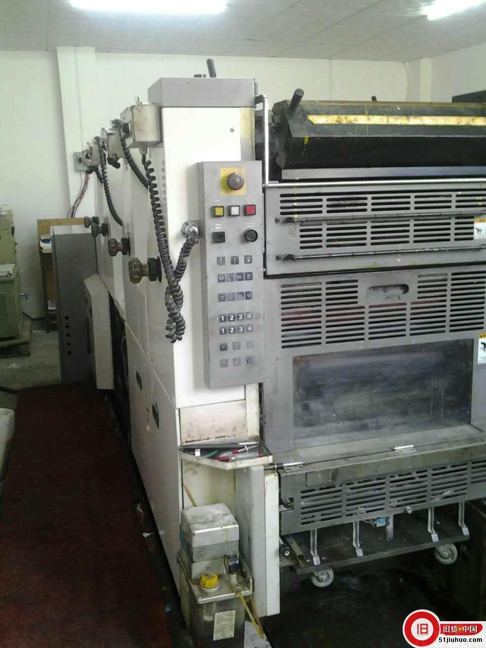 二手滨田印刷机_滨田452四色印刷机低转-尽在51旧货网