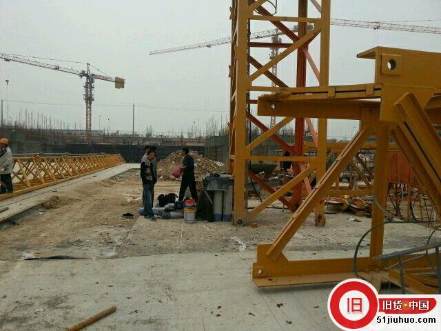 川建7022型大型塔吊处理(设备在西安)-尽在51旧货网