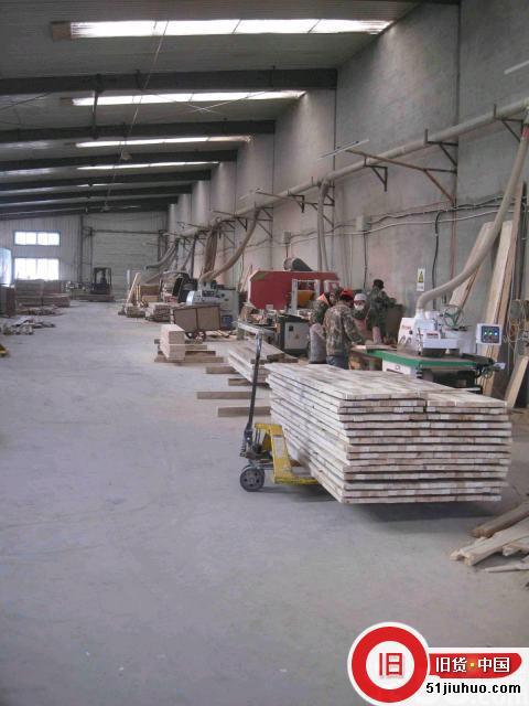 实木集成材和实木门生产线设备现转让