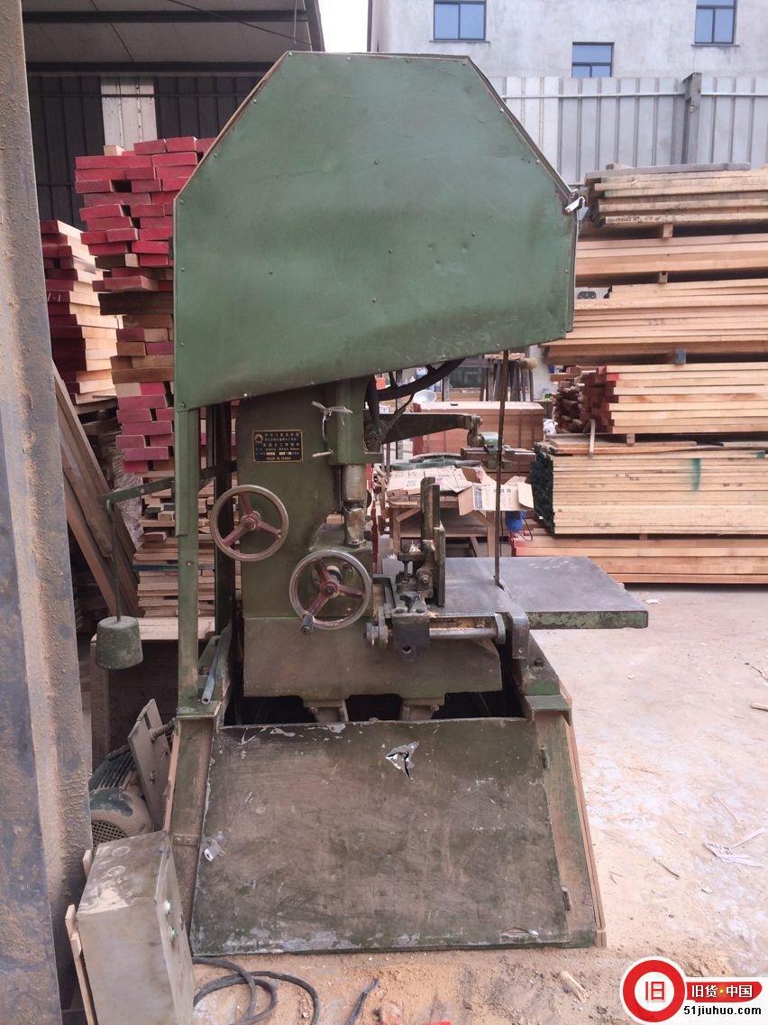 处理木工带锯机一台-尽在51旧货网
