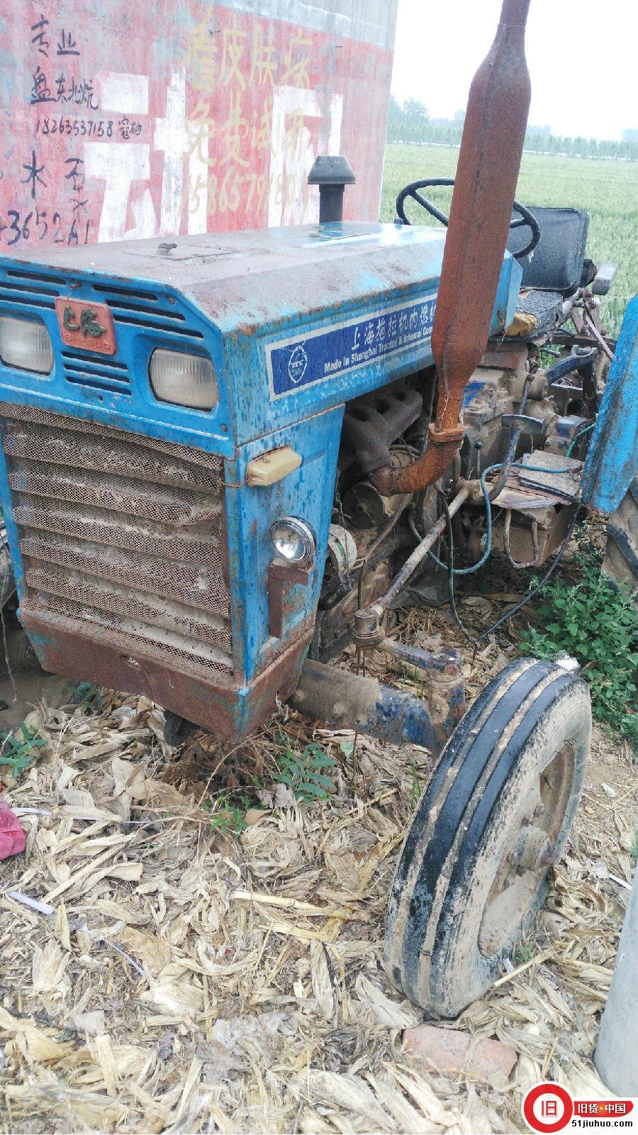 上海50拖拉机出售 带南昌旋耕机