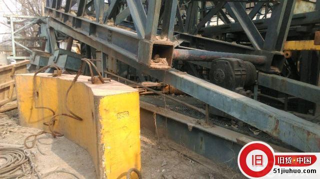 废铁价现转让5080行走式塔吊-尽在51旧货网