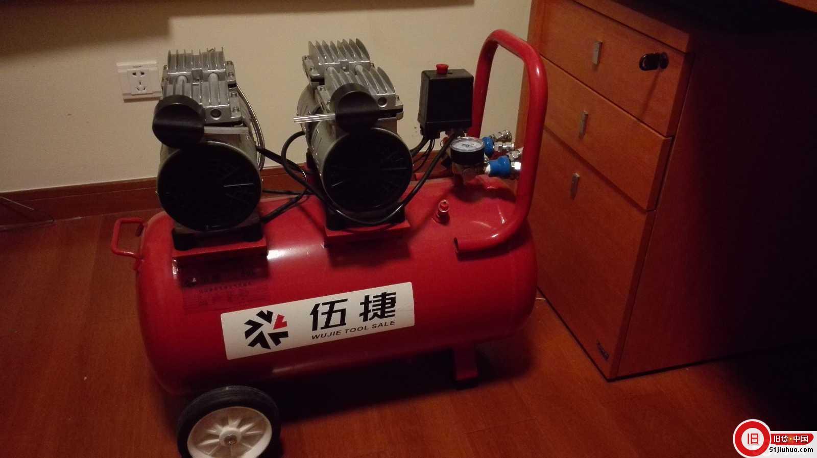 现处理:伍捷无油静音小型空气压缩机
