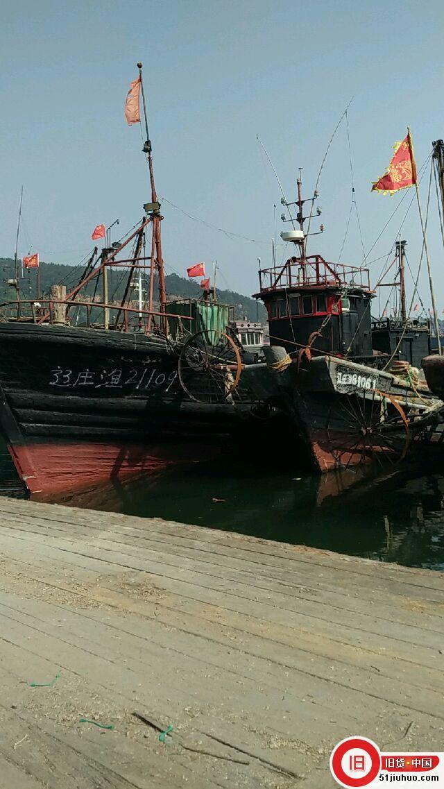 现转让:卖船木质渔船