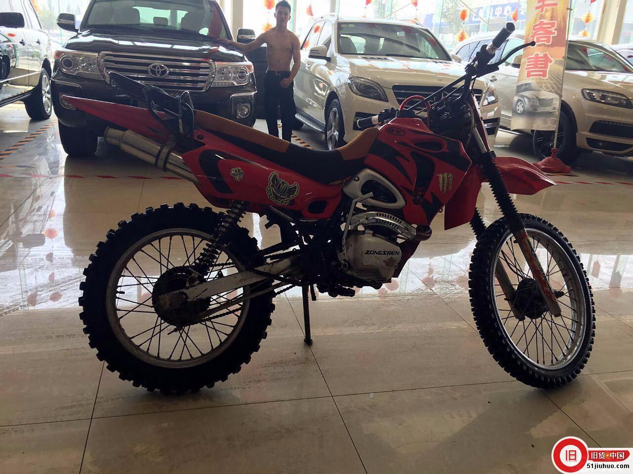 125cc白菜高赛越野摩托车转让