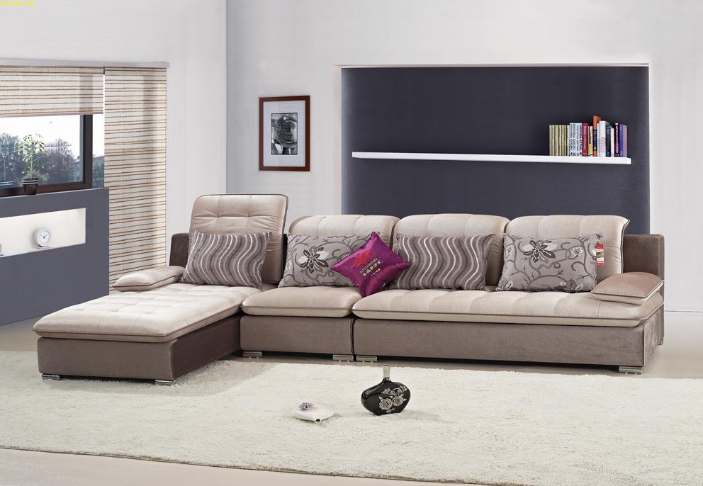 客厅休闲布艺沙发 简约布艺沙发