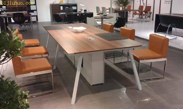 石家庄回收办公桌椅 会议桌