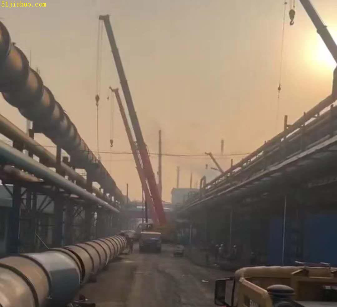 8吨12吨吊车出租_石家庄承接各类起重吊装