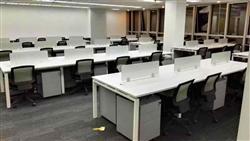 宁波镇海区员工桌椅回收,员工位回收,职员椅回收