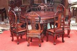 昆明红木家具回收、客厅座椅、长椅等红木家具