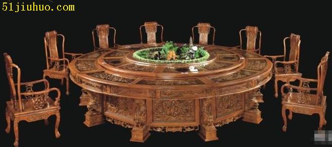济宁酒店餐桌椅回收 饭店桌椅回收