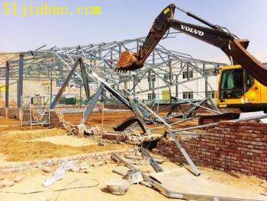 郑州厂房拆除,承接拆除各种建筑物