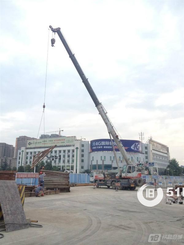 石家庄吊车出租租赁,吊装较重物品,路灯安装,工程施救吊装