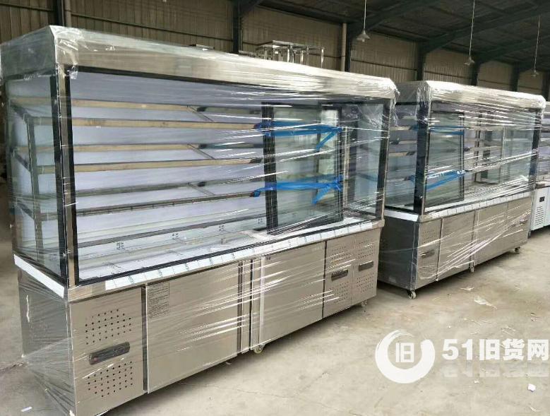 郑州高价回收出售冰箱冰柜商用冷柜、风幕柜,饭店厨房设备