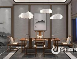 深圳禅意家具出售,新中式禅意家具定做