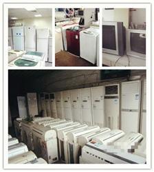 成都旧设备回收、旧家用电器、洗衣机、酒店电器