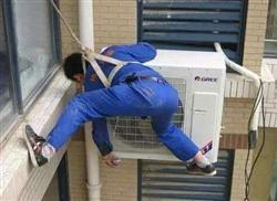 北京朝阳区空调移机,废旧空调移机