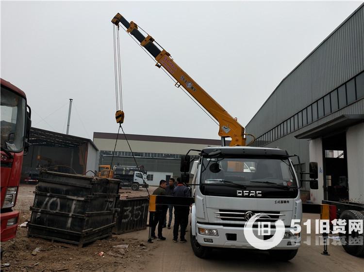 东风自带吊 5吨吊机清障车可分期