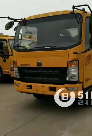 重汽豪沃国五一体版,清障车厂家发车河南郑州