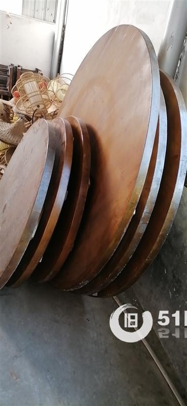 二手农家乐实木桌椅板凳低价转让